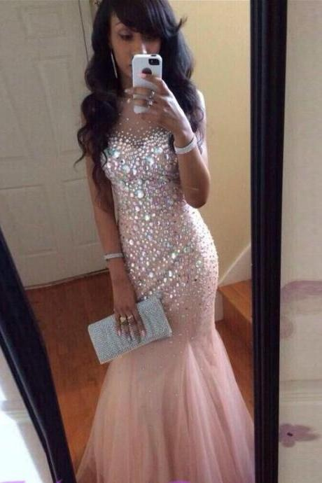 Sexy Prom Dress,Sleeveless Mermaid Prom Dresses,Backless Evening Dress,Long Dress,Charming Prom Dress,Long Prom Dress,Party Dress,Women Dress For Party,Custom Made Evening Prom Dress