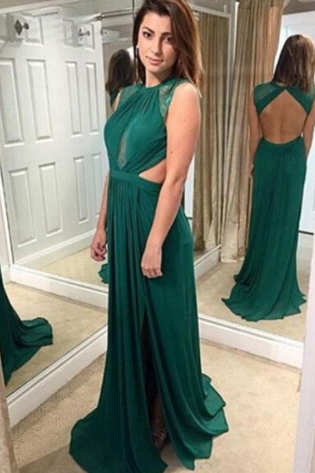 Long Prom Dresses,O-Neck Backless A-Line Prom Dresses,Cheap Prom Dresses, Evening Dress Prom Gowns, Formal Women Dress,Prom Dress