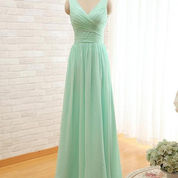 V Neck Mint Green Prom Dresses,Pink Evening Gowns,Simple Formal Dresses,Mint Prom Dresses,Junior Prom Dance Dresses,Mint Green Bridesmaid Dresses,Pink Party Dress,Homecoming Dresses,Pink Bridesmaid Dresses